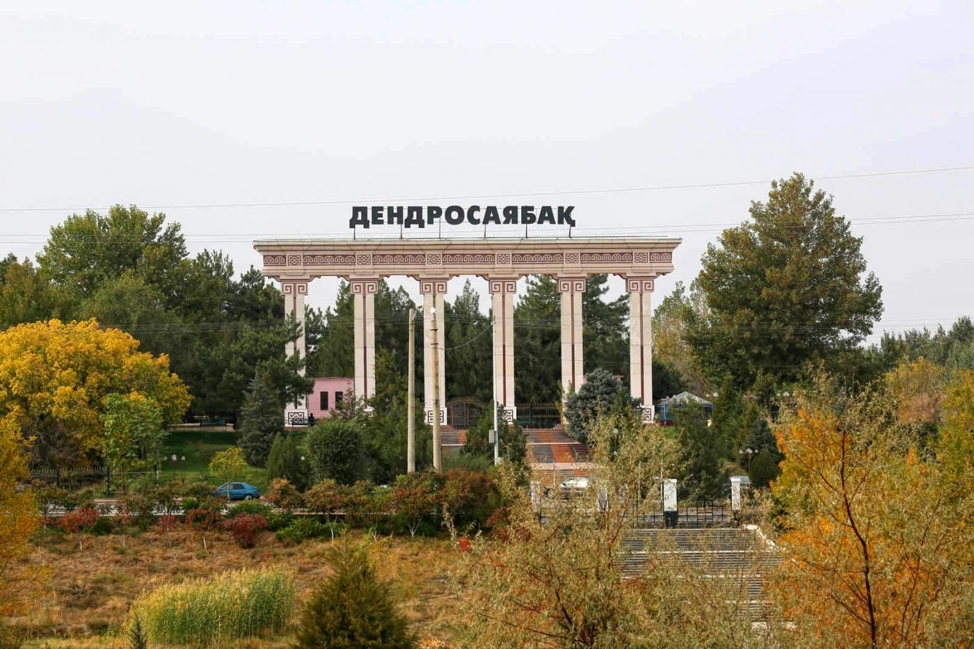 Дендропарк в Шымкенте